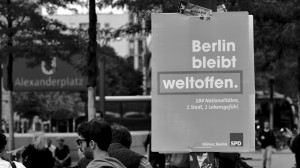 Berlin bleibt weltoffen