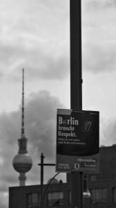 Berlin braucht Respekt